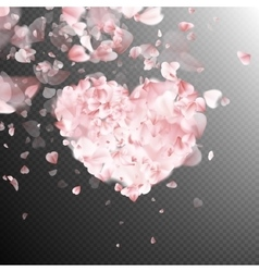 Flower petals blossom EPS 10 vector image vector image