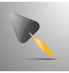 trowel Flat 03 03 vector image