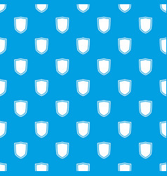 Military shield pattern seamless blue vector