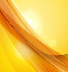 Abstract orange yellow background summer vector