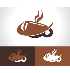 Coffee Cup Logo Icon vector image