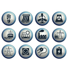 Energy and industry vector