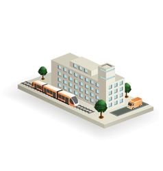 Isometric transport vector