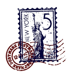 new york icon vector image vector image