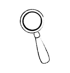Sketch magnifier loupe search discovery vector