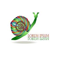 Snail Logo vector image vector image