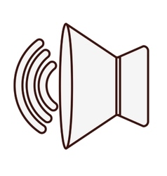Speaker sound icon image vector