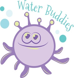 Water buddies vector
