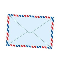 A mail is placed vector