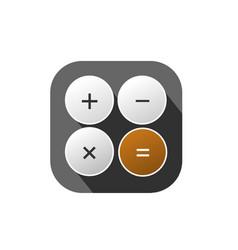 Calculator logo vector