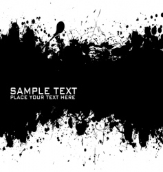 Text ink vector