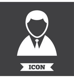 User sign icon person symbol vector