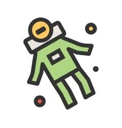 Space man ii vector