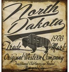 Tee graphic boho vintage western graphic logo vector
