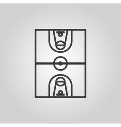 The basketball icon Basketball symbol Flat vector image vector image