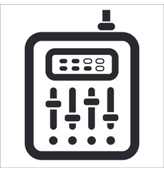 Mixer icon vector