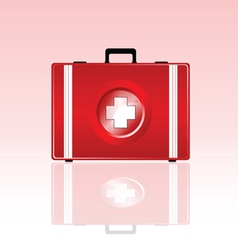 First aid bag vector