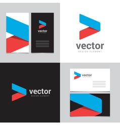 logo design element 07 vector image vector image