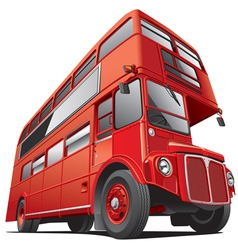 London double dacker bus vector