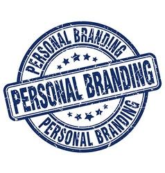 Personal branding stamp vector