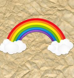 Vintage Color Rainbow vector image