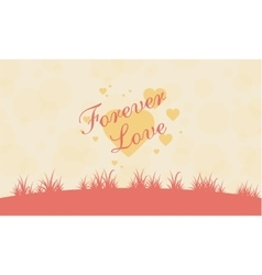 Romance theme valentine collection vector