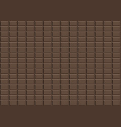 brown dark chocolate design background vector image