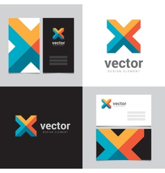 logo design element 05 vector image vector image