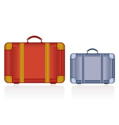 Travel bags vector image vector image