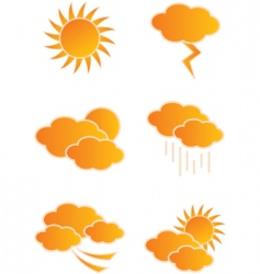 weather day vector image vector image