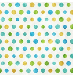 Colored dots vector image
