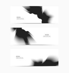 banner-black-blend vector image