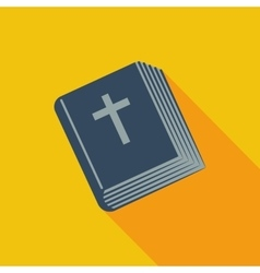 Bible single icon vector image vector image