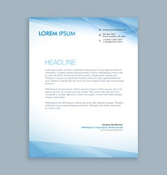 Business letterhead vector