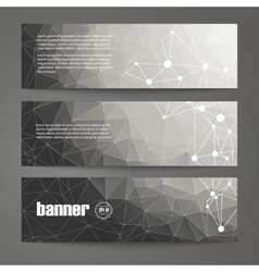 Set of black and white design templates for vector