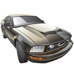 American sport car vector image