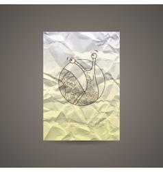 Design of brochures leaflets business cards on vector