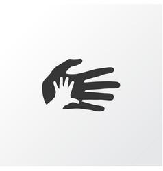 Palms icon symbol premium quality isolated vector