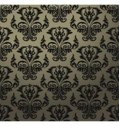 vintage wallpaper pattern vector image
