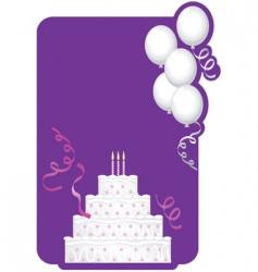 wedding board vector image vector image