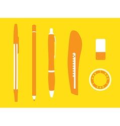 Office stationery vector