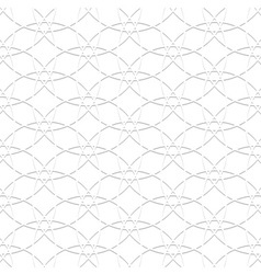3d white pattern in arabic style vector image vector image