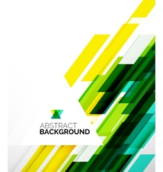 Abstract flyer template design background vector