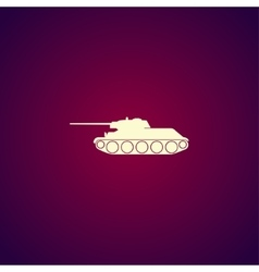 Tank icon concept for design vector