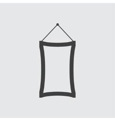 Mirror icon vector image vector image