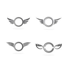 wing art vector image vector image