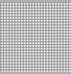 grey gingham pattern vector image