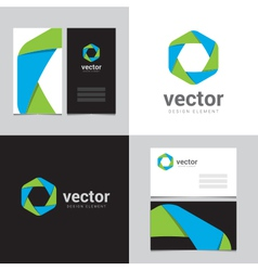 logo design element 06 vector image vector image