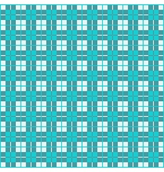 Seamless Gingham Teal vector image