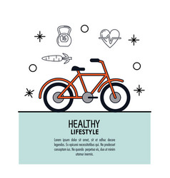 White background decorated of poster healthy vector
